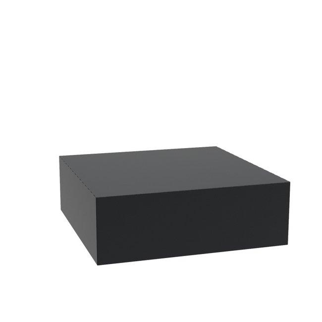 Sokkel aluminium 120x120x40 cm