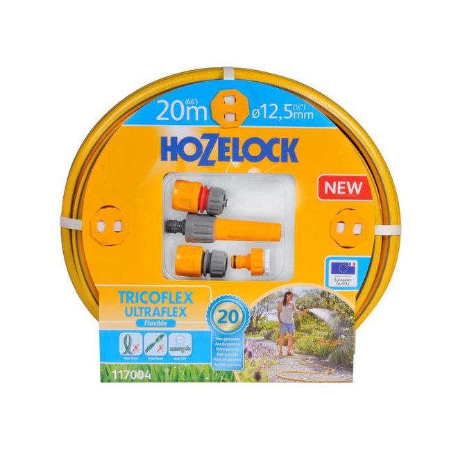 Hozelock Tricoflex Ultraflex slang Ø 12,5 mm 20m,  startset