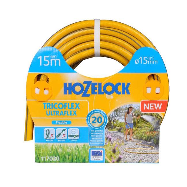 Hozelock Tricoflex Ultraflex slang Ø 15 mm 15 meter