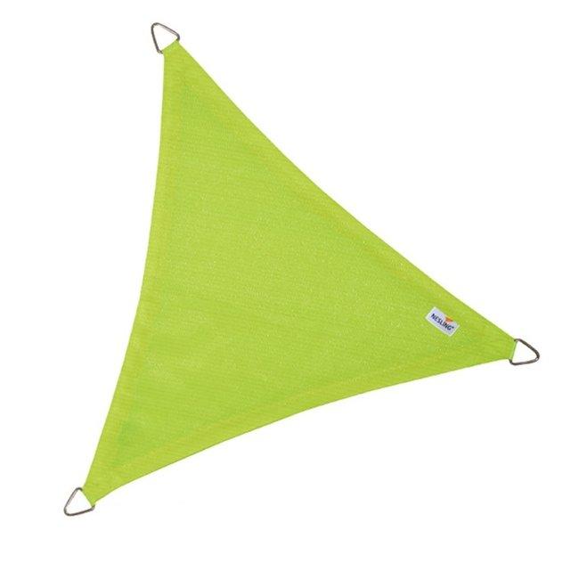 Nesling Coolfit 3.6 x 3.6 x 3.6 m lime groen schaduwdoek