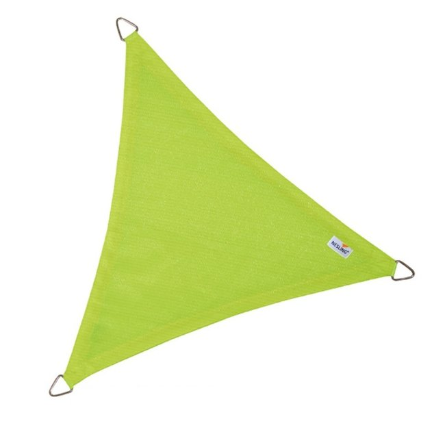 Nesling Coolfit 5 x 5 x 5 m lime groen schaduwdoek
