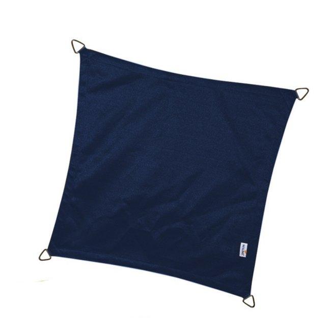 Nesling Coolfit 3.6 x 3.6 m navy blauw schaduwdoek