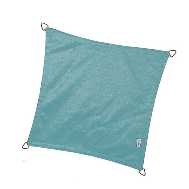 Nesling Coolfit 3.6 x 3.6 m ijsblauw schaduwdoek