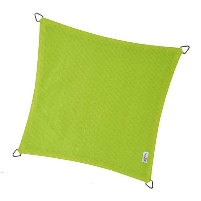 Nesling Coolfit 3.6 x 3.6 m lime groen schaduwdoek