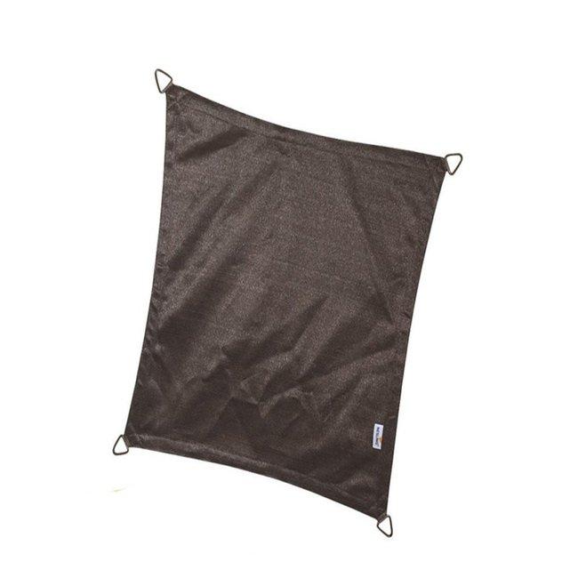 Nesling Coolfit 3 x 5 m zwart schaduwdoek