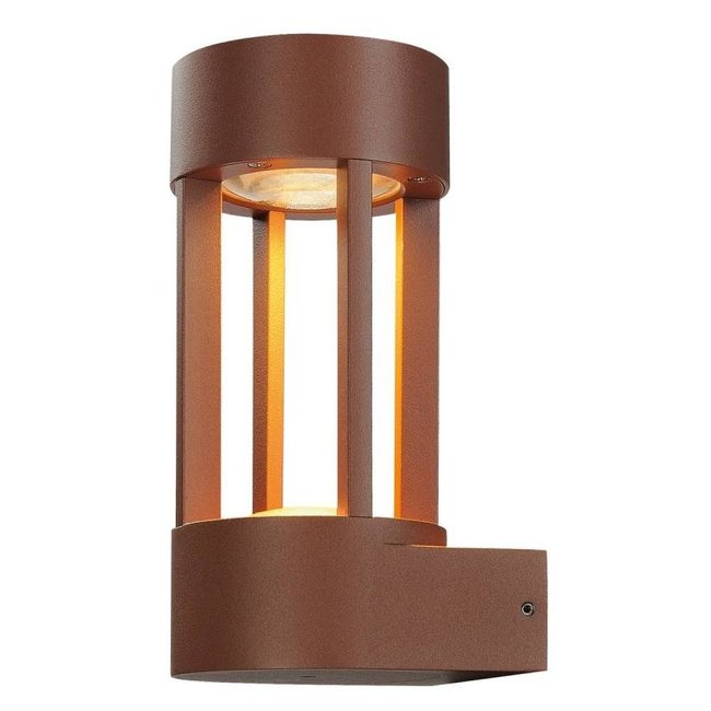 SLV Slots WL LED Roestkleur wandlamp