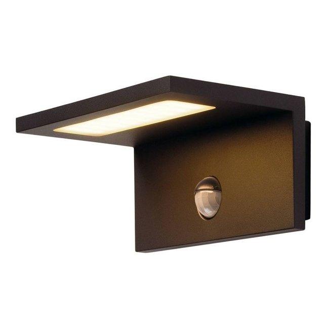 SLV ANGOLUX  antraciet wandlamp met sensor