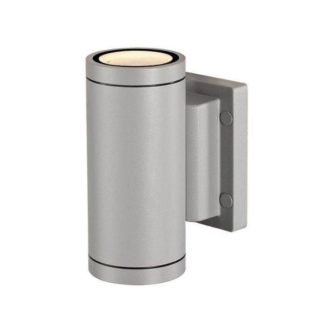 SLV Myra up/Down grijs wandlamp