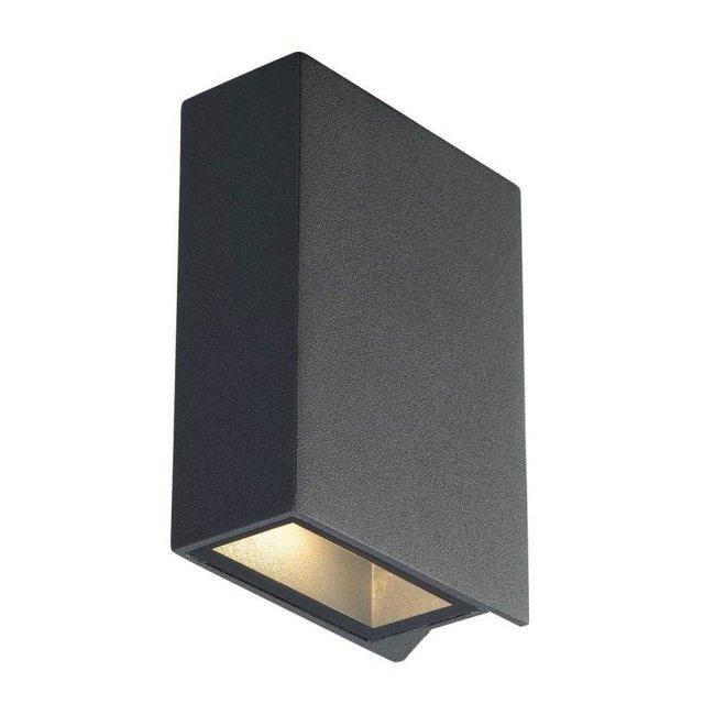 SLV Quad Up/Down 12 ANTRACIET wandlamp