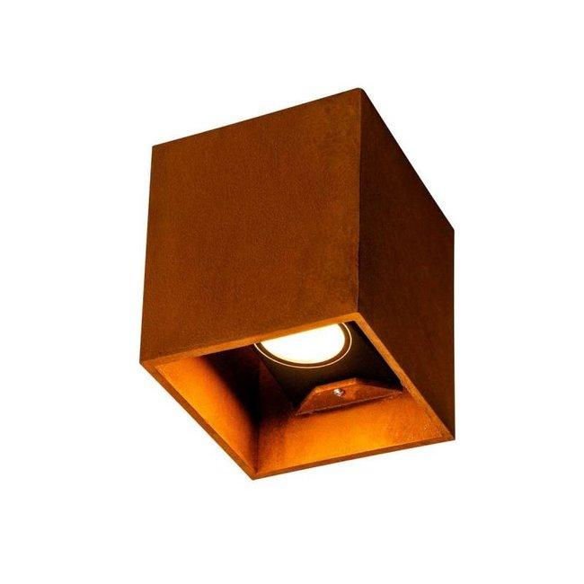 SLV Rusty® UP/DOWN vierkant wandlamp