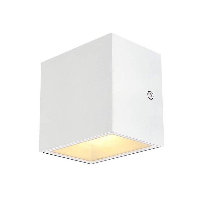 SLV Sitra CUBE LED WIT wandlamp