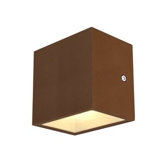 SLV Sitra CUBE LED ROESTKLEUR wandlamp