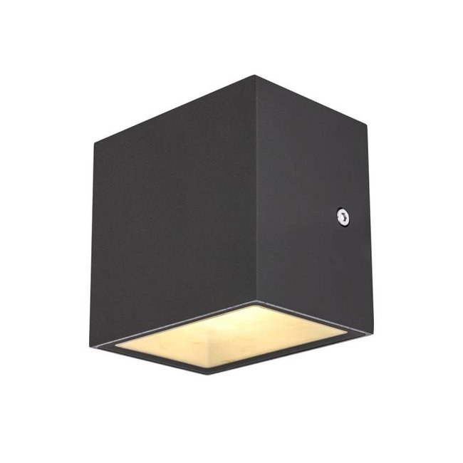 SLV Sitra CUBE LED ANTRACIET wandlamp