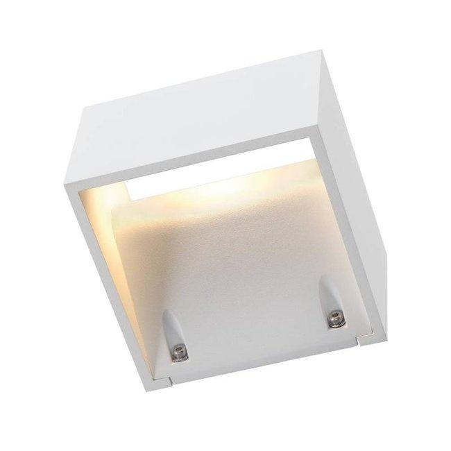 SLV LOGS wit wandlamp