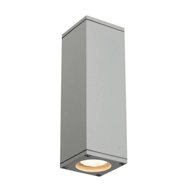 SLV THEO Up/Down grijs wandlamp