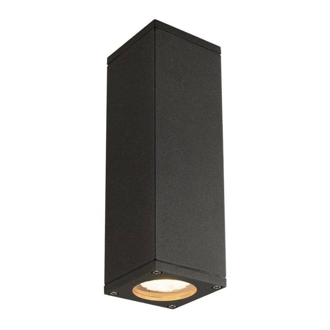 SLV THEO Up/Down antraciet wandlamp