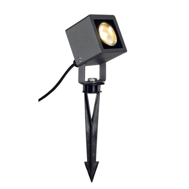 SLV Nautilus 10 Square LED antraciet tuinspot