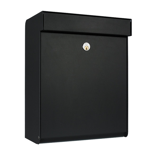 Allux Grundform Zwart brievenbus