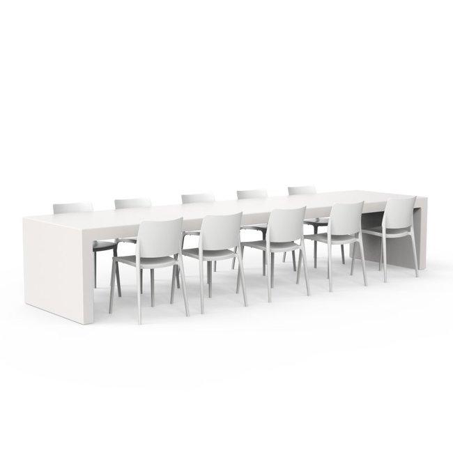 One to Sit XXL tafel BASE 400 x 100 x h. 75 cm