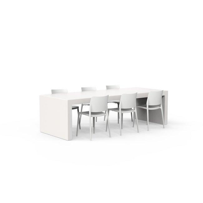 One to Sit XL tafel BASE 260 x 100 x h. 75 cm