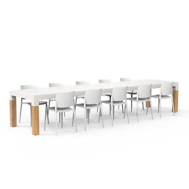 One to Sit XXL Tafel BORRA W 400 x 100 x h. 75 cm