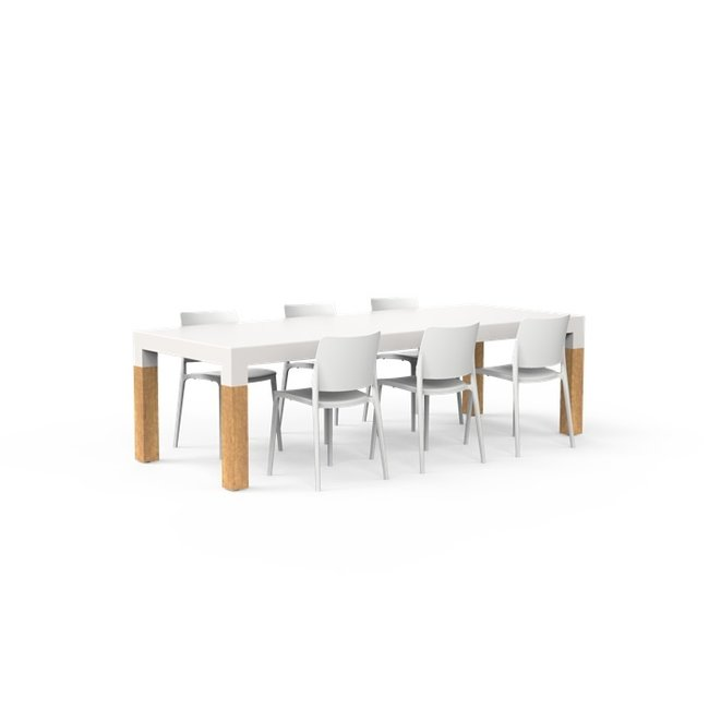 One to Sit Tafel BORRA W 260 x 100 x h. 75 cm