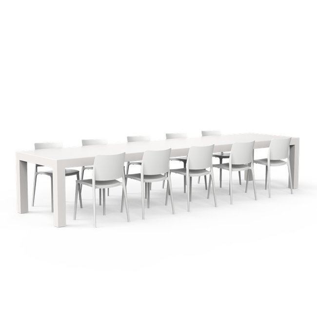 One to Sit XXL Tafel BORRA A 400 x 100 x h. 75 cm