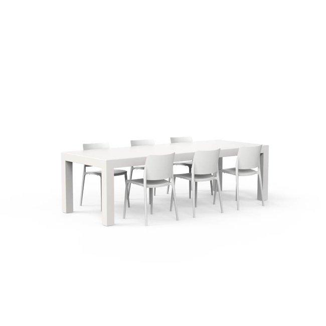 One to Sit Tafel BORRA A 260 x 100 x h. 75 cm