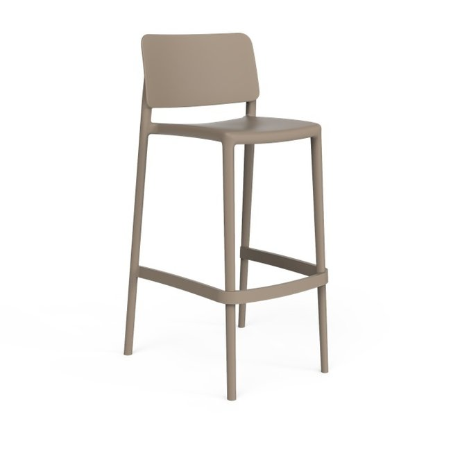 One to Sit Hoge Stoel Sera TAUPE