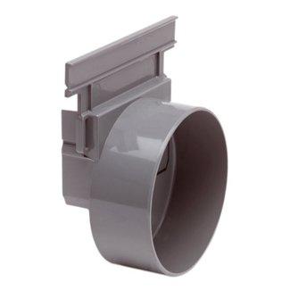 Nicoll eindkap, Connecto 100, uitlaat 110 mm inleg, grijs
