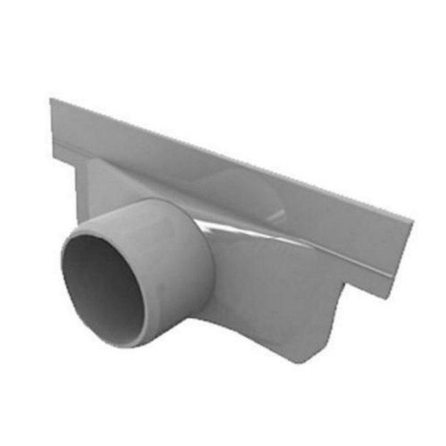 Nicoll eindkap, Connecto 100, uitlaat 40 mm inleg, grijs