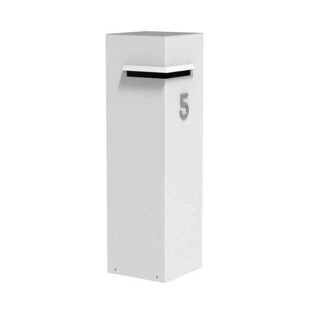 Ivar aluminium brievenbus