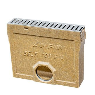 Anrin slibvangput voor lijngoot, type SELF-100/ECO/Mini