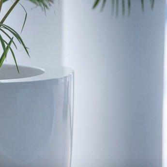 Buxus Hoogglans polyester 40x40x80 cm plantenbak