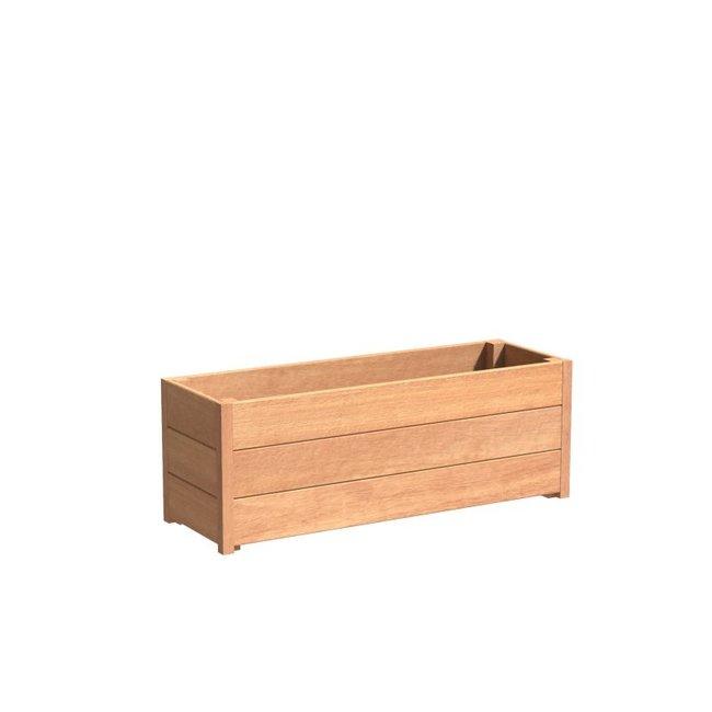 Sevilla 120x40x44 cm houten bloembak
