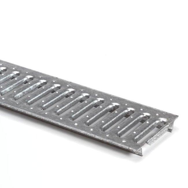 Anrin gegalvaniseerd sleufrooster t.b.v. lijngoot 100 cm, SELF-ECO