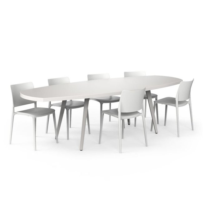 One to Sit Tafel ROLLO XL oval