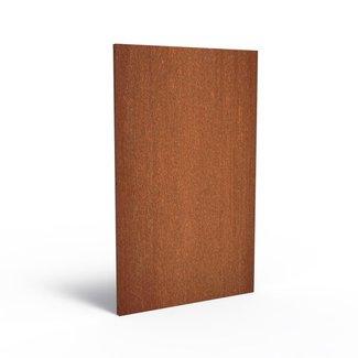 Sfeerpaneel cortenstaal BASIC 135 x 5 x 180 cm