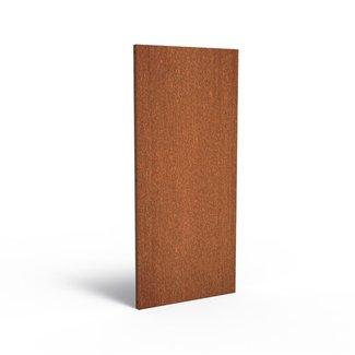 Sfeerpaneel cortenstaal BASIC 80 x 5 x 180 cm