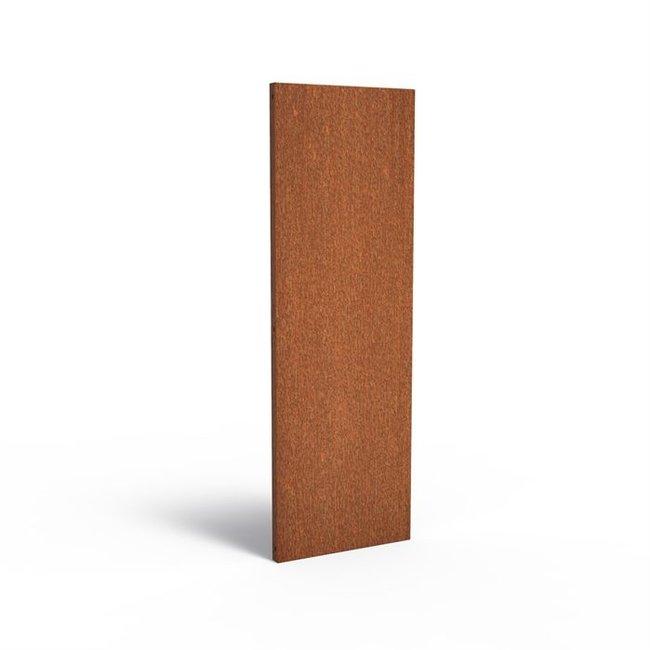Sfeerpaneel cortenstaal BASIC 60 x 5 x 180 cm