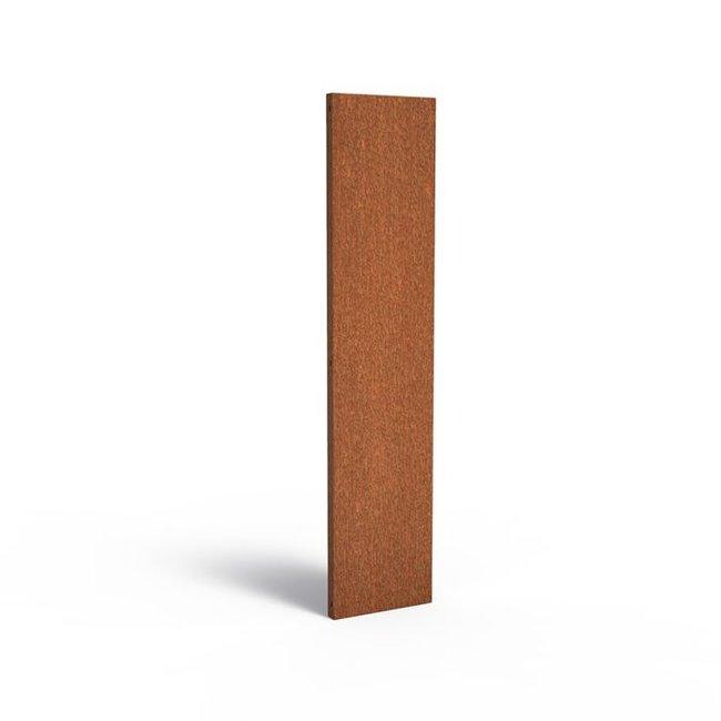 Sfeerpaneel cortenstaal BASIC 40 x 5 x 180 cm