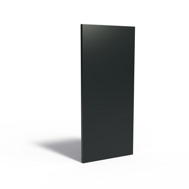 Sfeerpaneel ALU. BASIC 80 x 5 x 180 cm