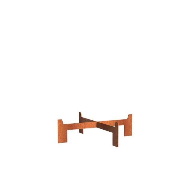 Forno voet voor BORC cortenstaal 115 cm