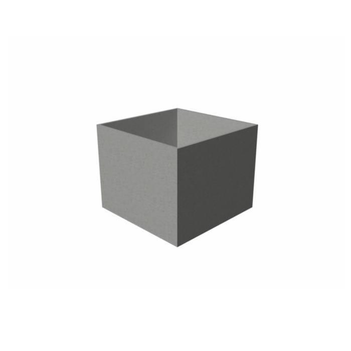 bloembak polymeerbeton Banco 60x60x60 cm