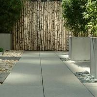 Polymeer beton plantenbakken