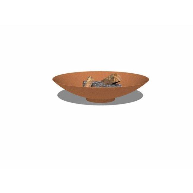 Forno vuurschaal cortenstaal 80 x 21 cm