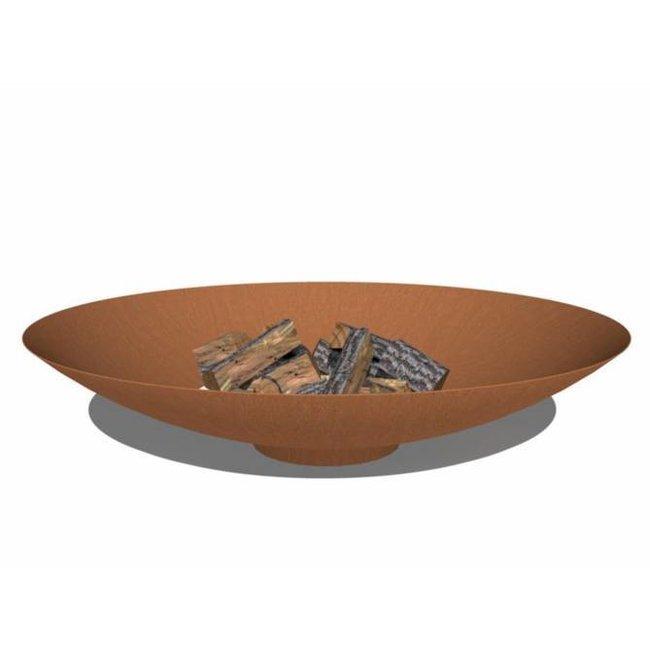 Forno vuurschaal cortenstaal 150 x 33 cm