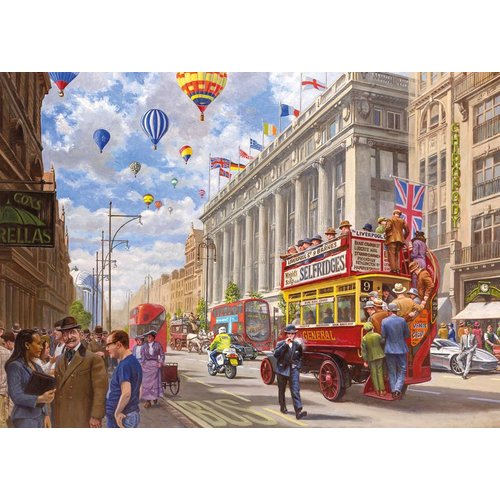 Gibsons Oxford Street - Then & Now