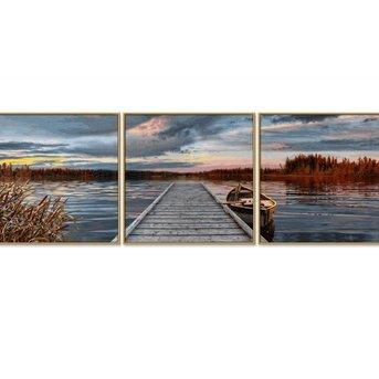 Schipper Sonnenaufgang am See