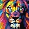 Artventura Regenbogen Löwe